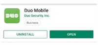 Duo mobile app image