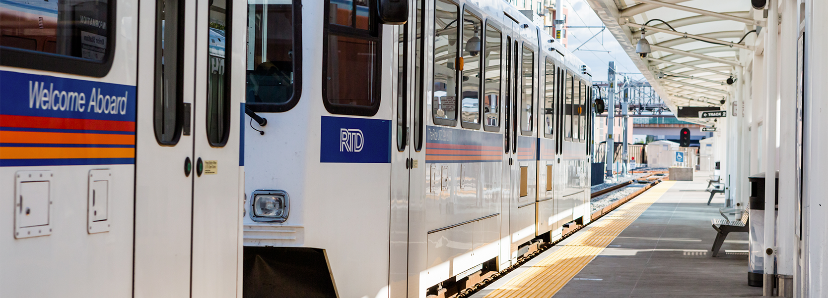 RTD Lightrail at Denver Union Station