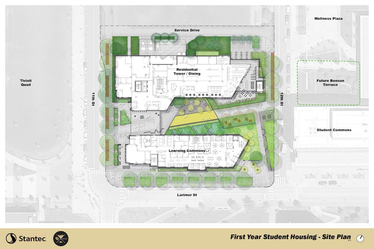 First Year Student Housing Site Plan