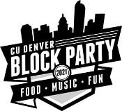 CU Denver Block Party Shield Logo