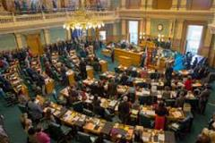 Colorado Legislature pictured from above