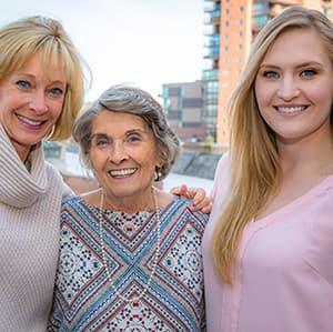 Three Generations of Austin Family