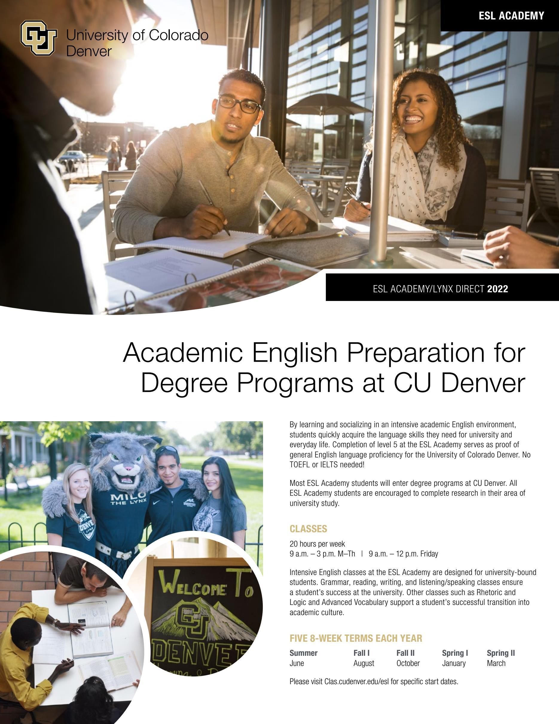 ESL Academy (LynxDirect Pathway Program)