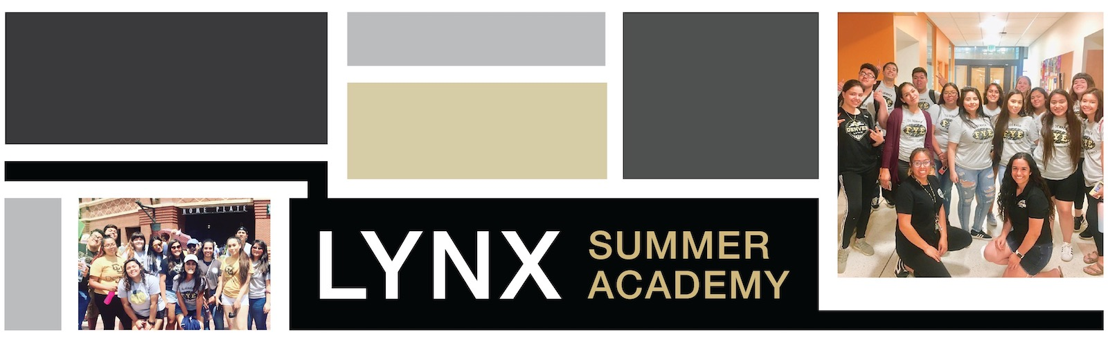 CU Denver Students at the Lynx Summer Academy