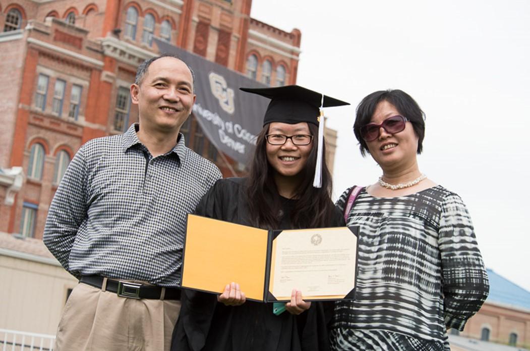 Siyuan (Kelly) Rao, the first recipient of the International College Beijing Graduate Fellowship