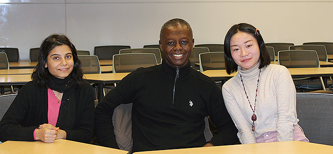 welcome party for First-Time International Students