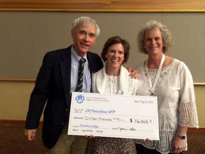 CIDE Accepts Check from COSSA